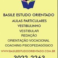 Basile Estudo Orientado - Aulas Particulares - Vestibular - Vestibulinho - Vila Romana - São Paulo, SP