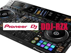 Pioneer DJ has just announced its new video mixing 4-channel controller: DDJ-RZX. Read more to find out about this huge and expensive DJ control unit.