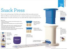 TUPPERWARE SNACK PRESS