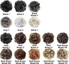 The GlamTouché Elastic Messy Bun Hairpiece is the perfect accessory for any hair color, length, or texture, creating the look of instant volume and limitless styles. Undercut Designs, Undercut Pixie, Curly Hair Updo, Curly Hair Styles, Hair Buns, Curly Messy Buns, Trending Hairstyles, Braided Hairstyles, Hairdos