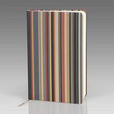 Paul Smith Stationery - Vintage Multi Stripe Pocket Notebook - agxa-book-pock2-2