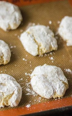 These easy Ricciarelli Cookies are traditional in the town of Siena and Tuscany. They're soft, chewy, and best of all, naturally gluten free and dairy free!