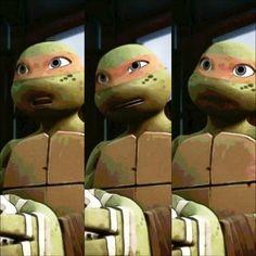 Mikey is loud, but i love him any way. Tmnt 2012, Ninja Turtles Art, Teenage Mutant Ninja Turtles, Tmnt Mikey, Big Crush, Michelangelo, I Love Him, Ninja Turtles, Orange