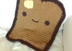 Adorable Toasty Blanket: Great Little Crochet Pattern, With Such A Cute Result!