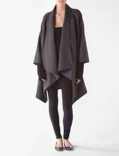 Calvin Klein cape... this outfit is so me!