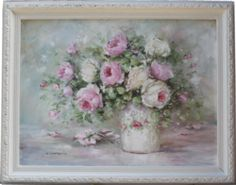 Original Painting - Beautiful Blooms - Postage is included Australia Wide
