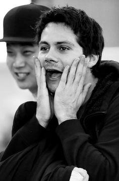 Dylan O´Brien at South Korea Airport