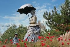 10.	Seward Johnson, On Poppied Hill, 1999, cast bronze, aluminum, 1/8, 96 x 84 x 60 inches, Courtesy of The Sculpture Foundation, Inc., © 1999 The Sculpture Foundation, Inc.