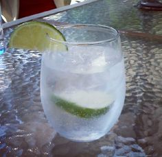 Low calorie drink.. Vodka, seltzer, splash of lime juice and a lime to garnish