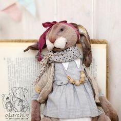 Крольчиха Аласти. Дом нашла. #тканидлямишек