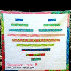 Love this quilt and there is a great tutorial @ quilting in the rain