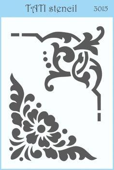 Трафарет объёмный TATI stencil 3015