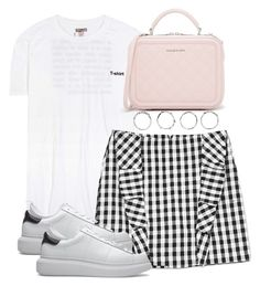 """""""Untitled #4116"""" by theeuropeancloset on Polyvore featuring Vetements, CHARLES & KEITH, Vichy and Boohoo"""