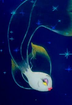 From Fantasia, the Dancing Goldfish in the 'Arabian Dance' part of the Nutcracker Suite. So sultry!
