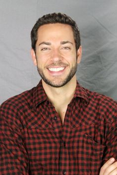 I think I have a new crush! Zachary Levi! He's handsome, has a great smile…