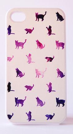 Galaxy Cat iPhone Case
