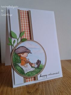 Crafted by Jules: Recognitions upto Dec 2014 Boy Cards, Kids Cards, Cute Cards, Birthday Cards For Boys, Craftwork Cards, Handmade Card Making, Retirement Cards, Hand Stamped Cards, Beautiful Handmade Cards