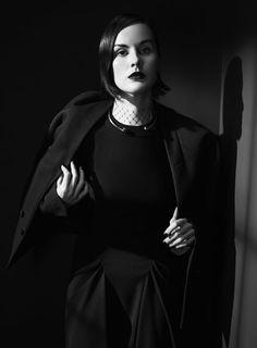 Michelle Dockery, photographed byEmma Summerton for Vogue Italia, Dec 2013.