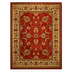 @Overstock - Enhance the natural beauty of hardwood and bring out the colors in your furniture with this vibrant red rug. The oriental design on this area rug is accented with gold and delicate patterns.http://www.overstock.com/Home-Garden/Pat-Mahal-Oriental-Red-Rug-82-x-910/6822431/product.html?CID=214117 $144.99