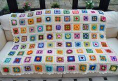 Ravelry: Maryfairy's Nana's Granny Blanket