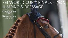 Finales de Coupe du Monde de Jumping et dressage. Du 17 au 21 avril 2014 à Lyon.