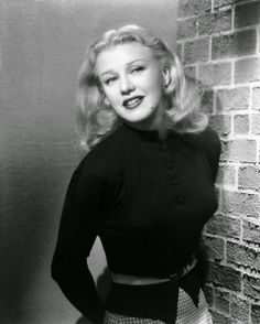 """Ginger Rogers, """"Perhaps I am old-fashioned, but black & white films still hold an affectionate place in my heart; they have an incomparable mystique and mood. Old Hollywood Stars, Golden Age Of Hollywood, Vintage Hollywood, Hollywood Glamour, Classic Hollywood, Ginger Rogers, Divas, Fred And Ginger, Cinema"""