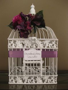 Bought for our Wedding cards. Different sized cages and totally personalized to match your colors and theme!