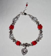 Valentine Swarovski Bracelet