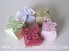 Wedding Favors | Butterfly Wedding Favor Box (PM-FB091)