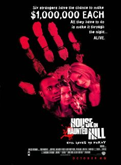 House on Haunted Hill - Review: House on Haunted Hill (1999) is a 1h 33-min Rated R American horror film and is a remake of… #Movies #Movie