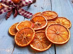 Orange Slices  Hand Dried Craft Supplies by ReallyHomemade on Etsy