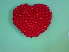 40 cm lik kalp içi dolu