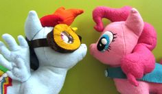For much of this project, I did things the same as with the Pinkie Pie I made my niece for Christmas. You can read that post for many details I will be leaving out here! I scaled the pony body patt...
