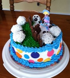 Coolest LaLaLoopsy Cake... Coolest Birthday Cake Ideas