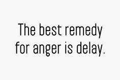 The best remedy for anger is delay. May not be a remedy but definitely better to not respond in anger. Great Quotes, Quotes To Live By, Me Quotes, Inspirational Quotes, Cool Words, Wise Words, Word Up, Anger Management, Powerful Words