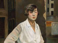 """Rudolf Schlichter: """"Margot"""", Öl auf Leinwand, 1924"""