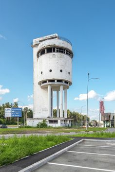 The White Tower (water tank), Yekaterinburg, Russia, 1931 / design was won by Moses Reischer, a 25-year-old graduate of the Siberian Technological Institute.