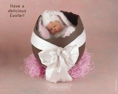 Anne Geddes Baby Pictures - Easter Baby