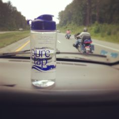 SPOTTED: The Cunningham's are taking their Louisville Pure Tap on the Road! ‪#‎roadtrip‬