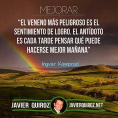 Mejorar Cada Dia #frasepoderosa - Coaching Marketing y más en http://ift.tt/1OECVwE