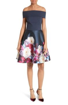 Ted Baker London Nersi Fit & Flare Dress available at #Nordstrom