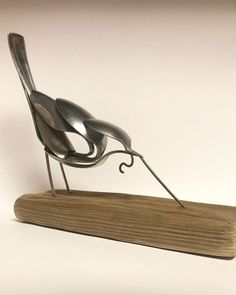 """Learn even more relevant information on """"metal tree sculpture"""". Look at our web site. Welding Art Projects, Metal Art Projects, Metal Crafts, Fork Art, Spoon Art, Metal Art Sculpture, Steel Sculpture, Art Sculptures, Sculpture Ideas"""