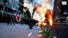 1 de mayo: Manifestación alternativa de Barcelona