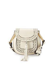 0d5ccb3d45 Chloe Hudson Perforated Leather Mini Saddle Bag