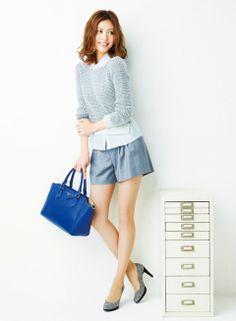 通勤 カジュアルは緊張感のある足元で大人っぽく! | ファッション コーディネート | with online on ウーマンエキサイト