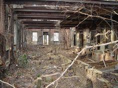 Abandoned Smallpox hospital, Roosevelt island, New York , NY, USA