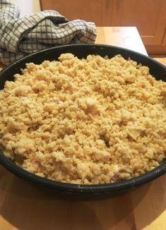 Savory cakes without measuring - Clean Eating Snacks Vegan Crumble, Vegan Granola, Patisserie Sans Gluten, Dessert Sans Gluten, Thermomix Desserts, Vegan Desserts, Compote Recipe, Savoury Cake, Clean Eating Snacks