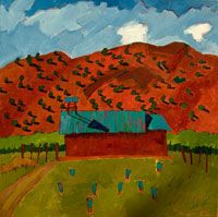 Artist Jim Keffer paints a lot of Oklahoma and New Mexico...beautiful!