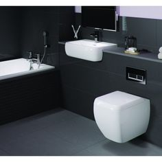 Metro Wall Hung Toilet & Basin Suite. These high quality, low price pieces of bathroom furniture are ideally for bringing stylish space saving qualities to your bathroom. Available in a variety of colours and sizes look no further for your bathroom furniture today. http://www.dealsonbathrooms.co.uk/toilets-basins/toilet-basin-sets/metro-wall-hung-toilet-basin-suite.html#.VA7BEfmwJKU