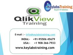 QlikView online training is the most flexible Business Intelligence platform for turning data into knowledge.  http://www.keylabstraining.com/qlikview-online-training-hyderabad-bangalore